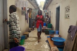 Josiane uses Mobile Money on the go in Ivory Coast