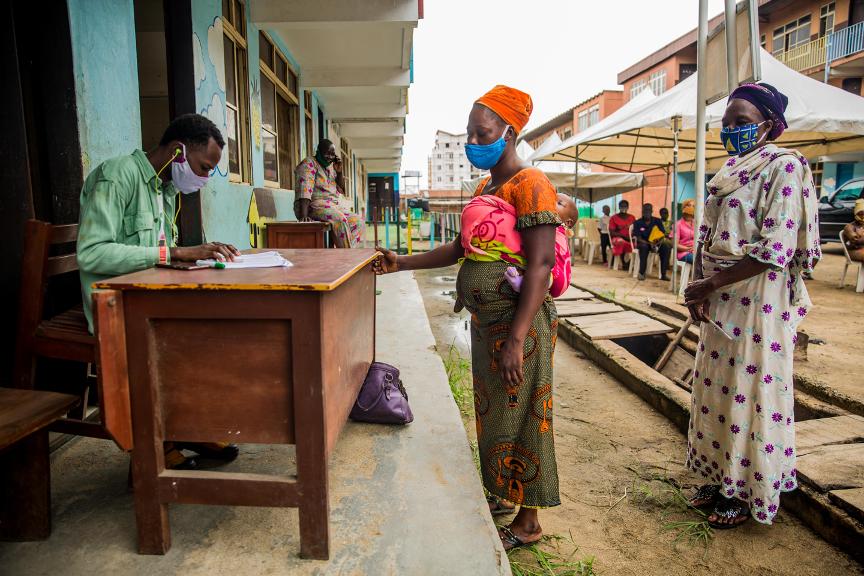 Covering Coronavirus in Lagos